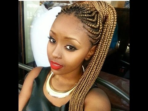 CUTE BRAIDED HAIRSTYLES FOR BLACK GIRLS 2016 HAIRSTYLE