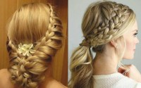 beautiful hairstyles for long hair for wedding party ...