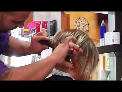 Buzz Cut Bob Makeover Haircut Women Nape Clipper