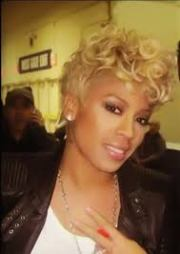 black women short hairstyles keyshia