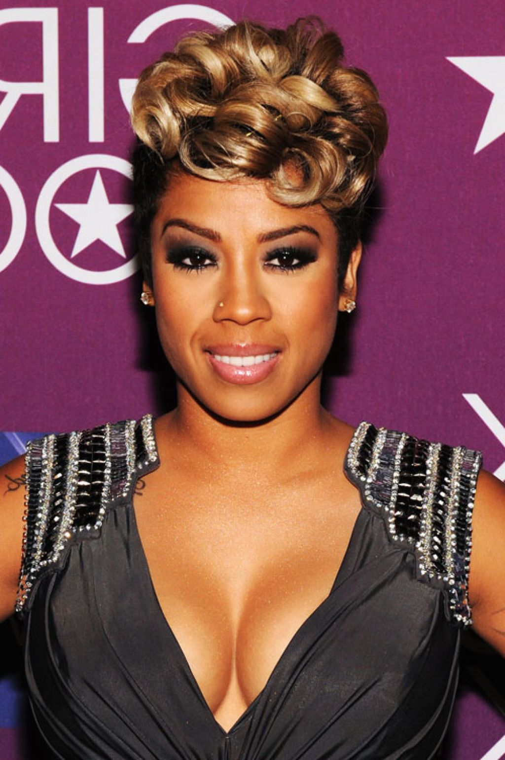 50 Famous Black Women Keyshia Cole Short Hairstyles Hairstyles