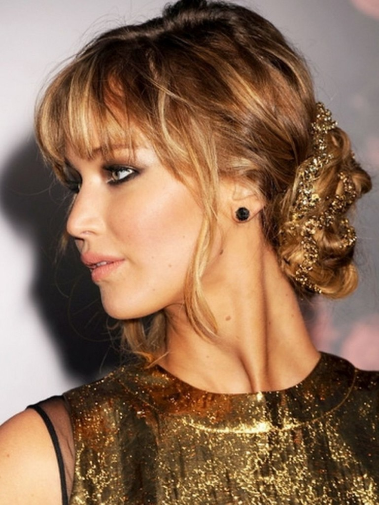 13 Best Formal Hairstyles For Medium Hair With Bangs For