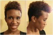 natural short tapered hairstyles