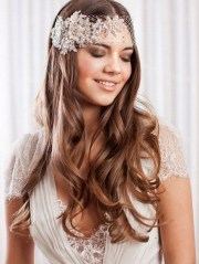 bridal hairstyles with fringes