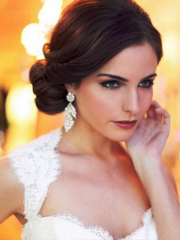 30 Simple Wedding Hairstyles Bangs Hairstyles Ideas Walk The Falls