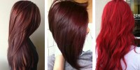 TOP 20 transformations with Maroon hair color  HairStyles ...