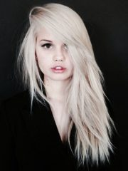 platinum blonde hair 20 ways