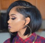 short hairstyles black