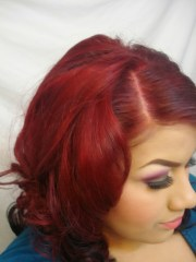 benefits of burgundy hair color