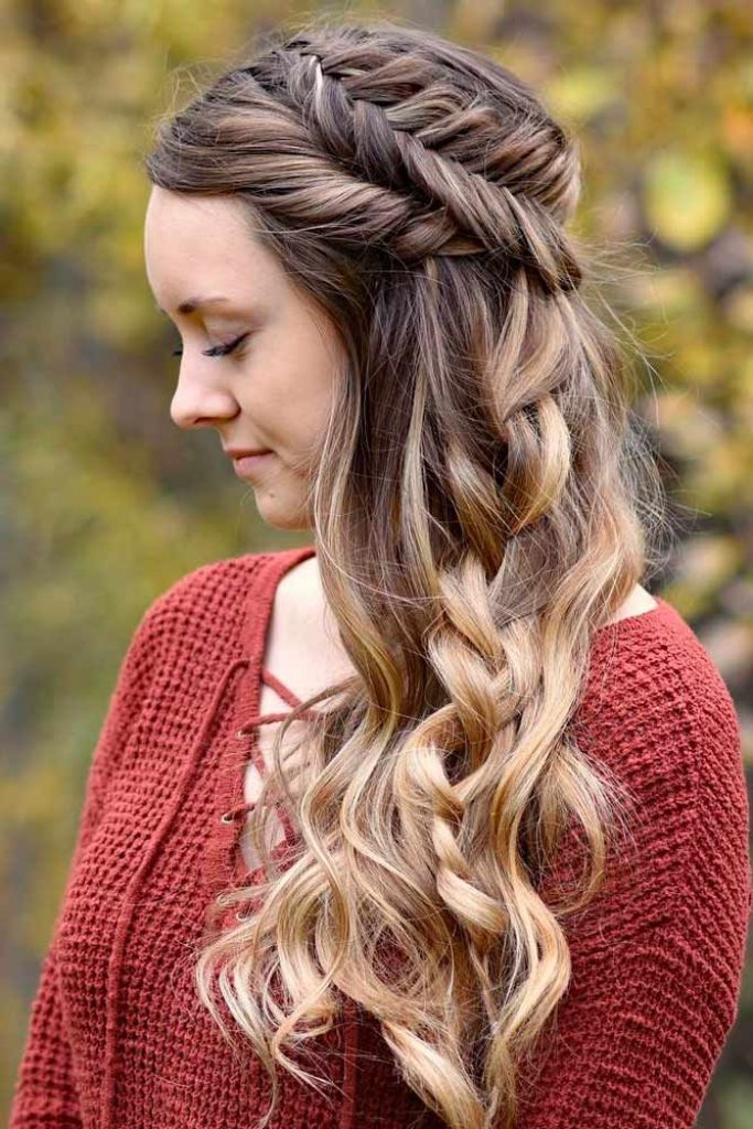 47 Your Best Hairstyle to Feel Good During Your Graduation  HairStyles for Women