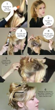 style messy bun tutorial