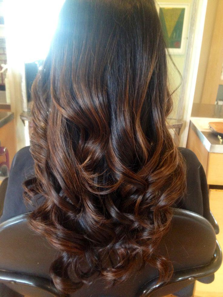 Subtle Ombre Curls  Hairstyles How To