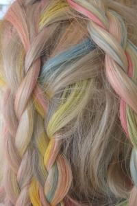 Cotton Candy Braids | Hairstyles How To