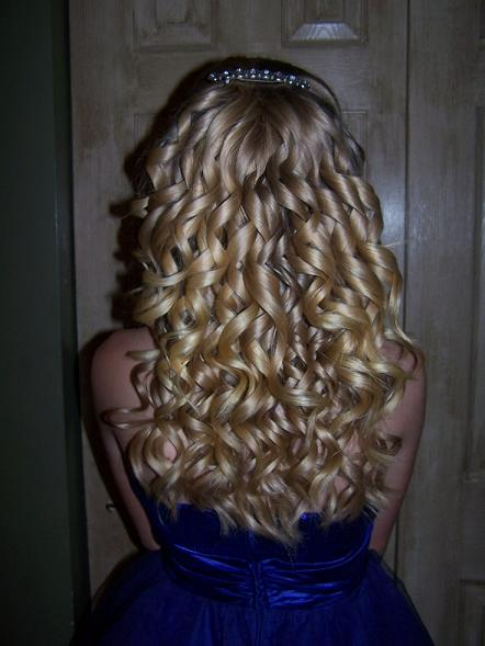 Blonde Spiral Curls  Hairstyles How To