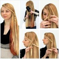Braided in Front   Hairstyles How To