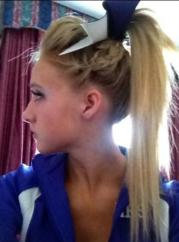 cute cheer hair hairstyles