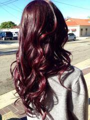 burgundy hair color hairstyles