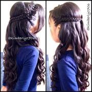 prim bow braid hairstyles