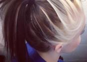 aqua ponytail - hairstyles