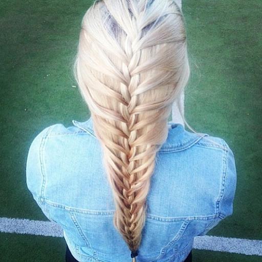 Platinum Mermaid Braid  Hairstyles How To
