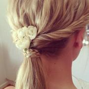 perfect ponytail & braid hairstyles