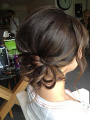 cute bridesmaid updo hairstyles