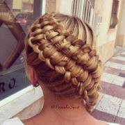 zipper braid hairstyles