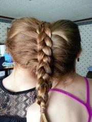 cute friends braid hairstyles