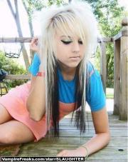 teen girls shoulder length hairstyle