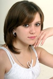 teen girls shoulder length hairstyle