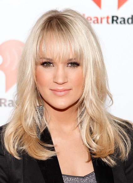 How To Get Carrie Underwood Haircut : carrie, underwood, haircut, Carrie, Underwood, Hairstyles, Weekly