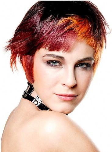 2012 hair trends: wild color bob 2012