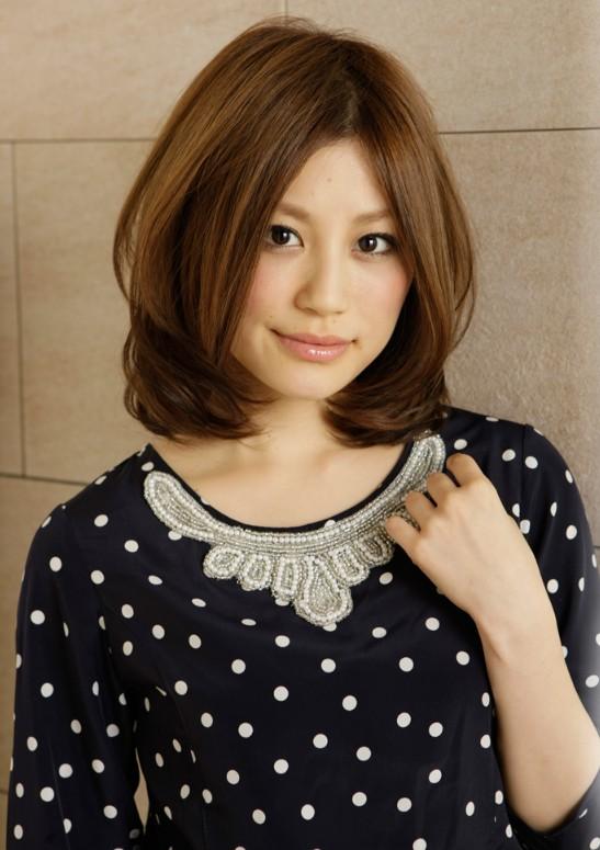 cute Japanese bob haircut
