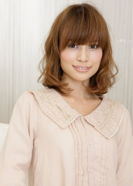 medium length Japanese hairstyle
