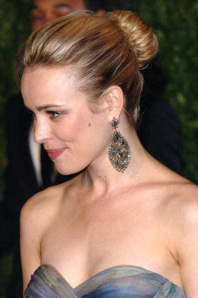 Rachel McAdams updo for wedding