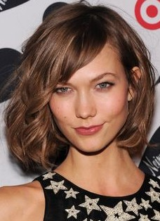 2014 Hairstyle with Side Swept Bangs