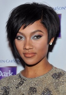 2014 Short Hairstyle for Black Women