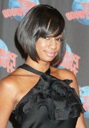 african american layered bob hairstyle