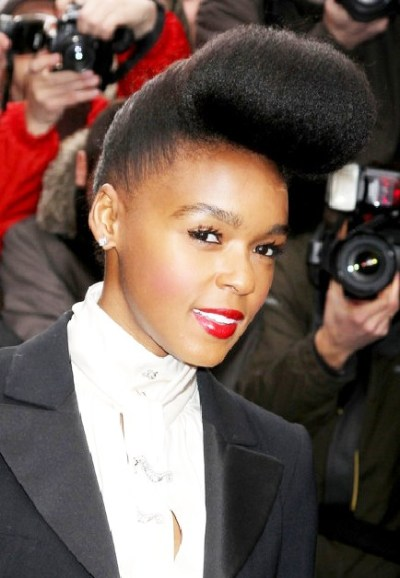 African American Pompadour Haircut