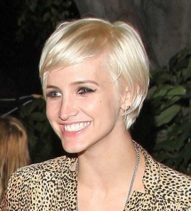 Ashlee Simpson Wentz Short Hairstyle 2013