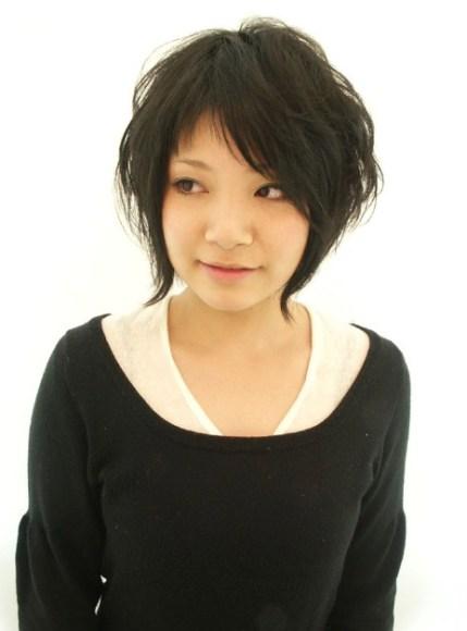 Black-Japanese-Hair-Style