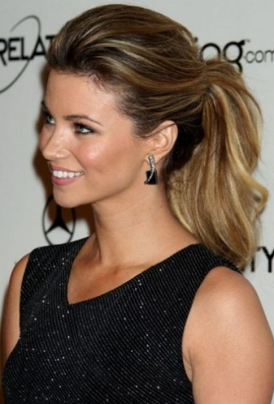 Celebrity Ponytail Hairstyle