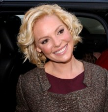 Celebrity Short Curly Hairstyle