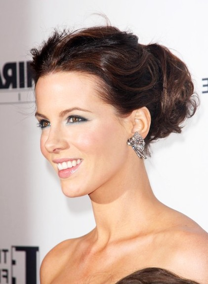 Classic and feminine updos for women