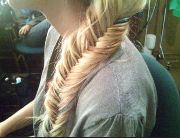 Cute Fishtail Braid Hairstyle