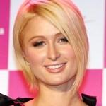 Paris Hilton Elegant Blonde Inverted Bob
