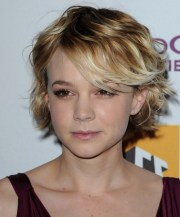 cute short hairstyle with side