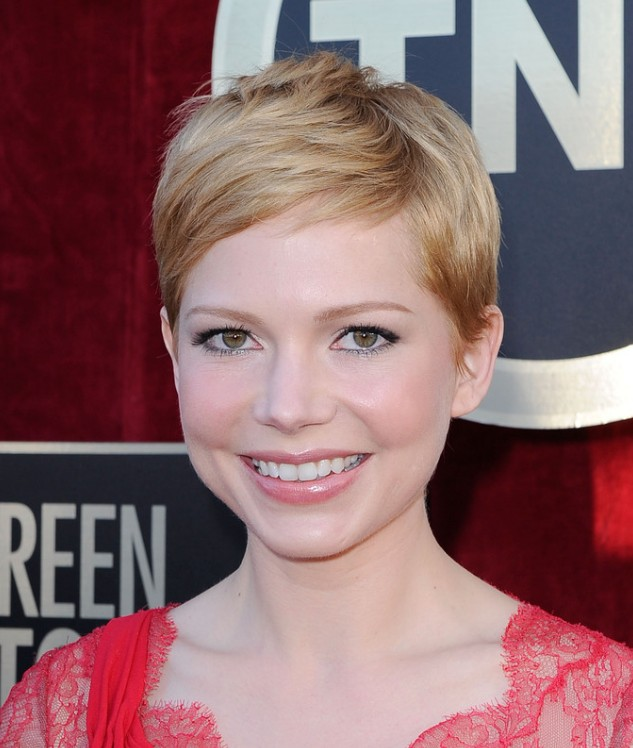 Cute Short Pixie Hairstyle 2013