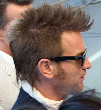 Fauxhawk haircut