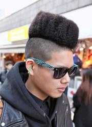 high top fade haircut men